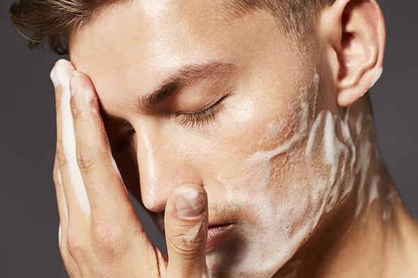 mens skincare campaign