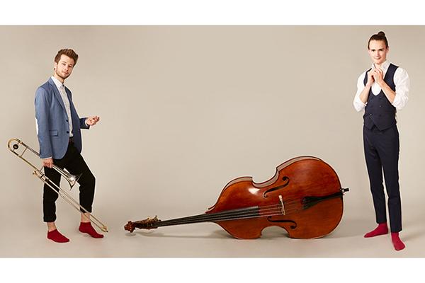 bandfotos für jazz duo manic
